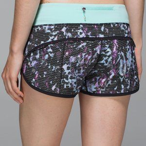 Lululemon Run Speed Short Size 2 Floral Sp…